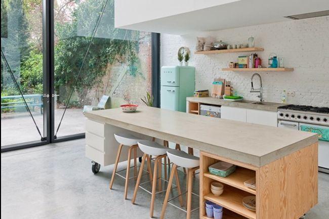 Comment bien aménager une cuisine ouverte ? Cuisine Pinterest