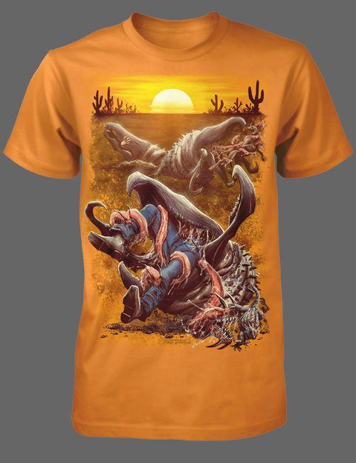 2e60a5c02 Tremors [01125] - $21.95 : Horror T-Shirts : FRIGHT-RAGS, Horror Shirts