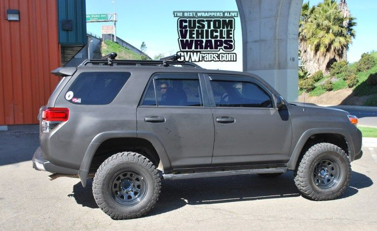 Matte Black Wrap Toyota 4runner House Pinterest Matte Black