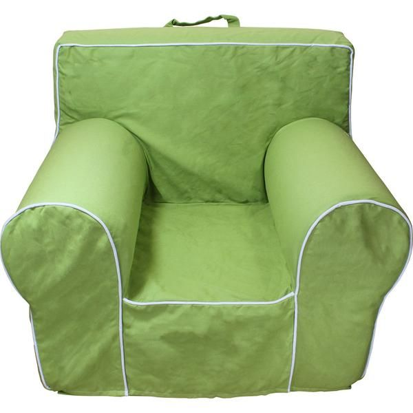 Light Green Chair Cover For Foam Childrens Chair