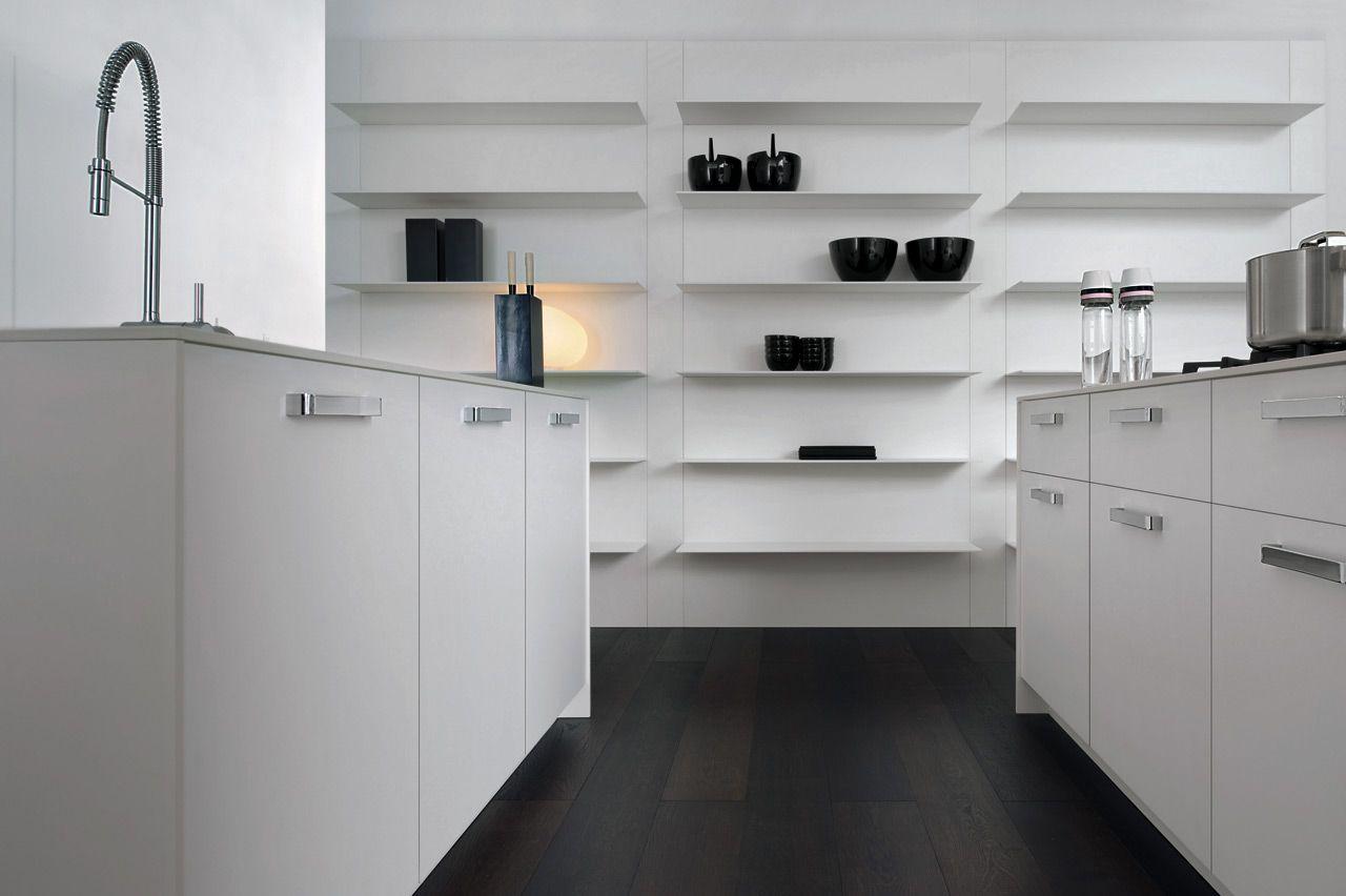 Excellent awesome ispirazioni di cucine moderne e di for Mensola bianca lucida