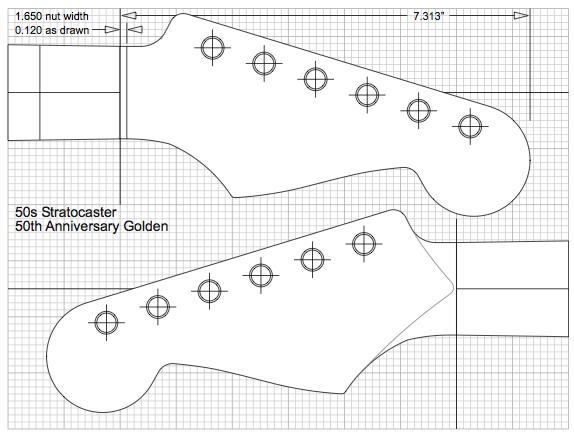Guitar Kit Builder Fender Headstock Templates Projeto De Guitarra Construcao De Guitarra Guitarras Fender