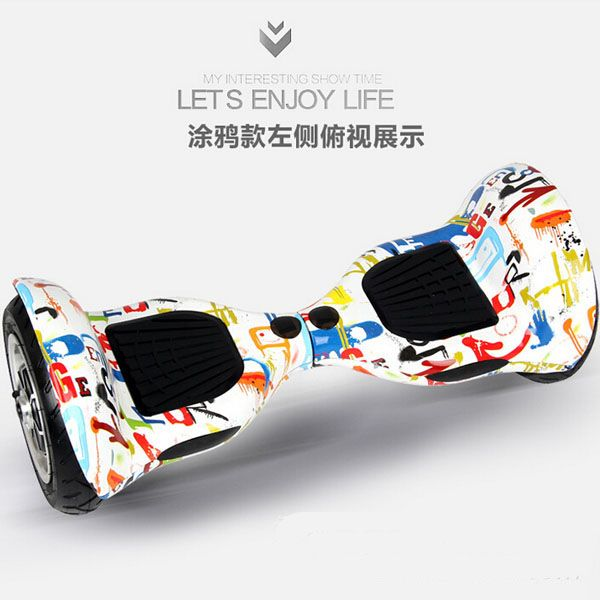 Luxury Outstanding Original 10 inch Tire Smart Self Balancing Electric Scooter Two Wheel Skateboard Free Shipping