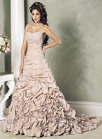 wedding gown tan color | Chicago Wedding Venue | Pinterest