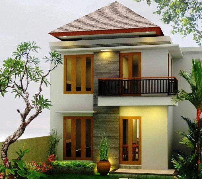Tampak Depan Contoh Rumah Minimalis 2 Lantai Content