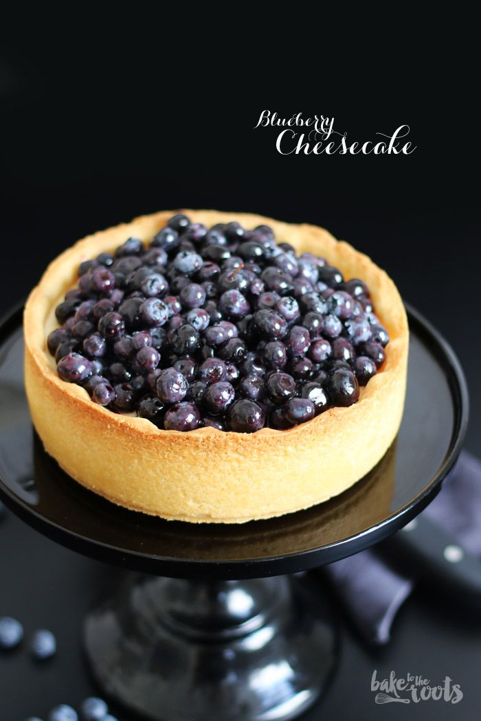 Cremigster Heidelbeer-Käsekuchen EVER! | Bake to the roots