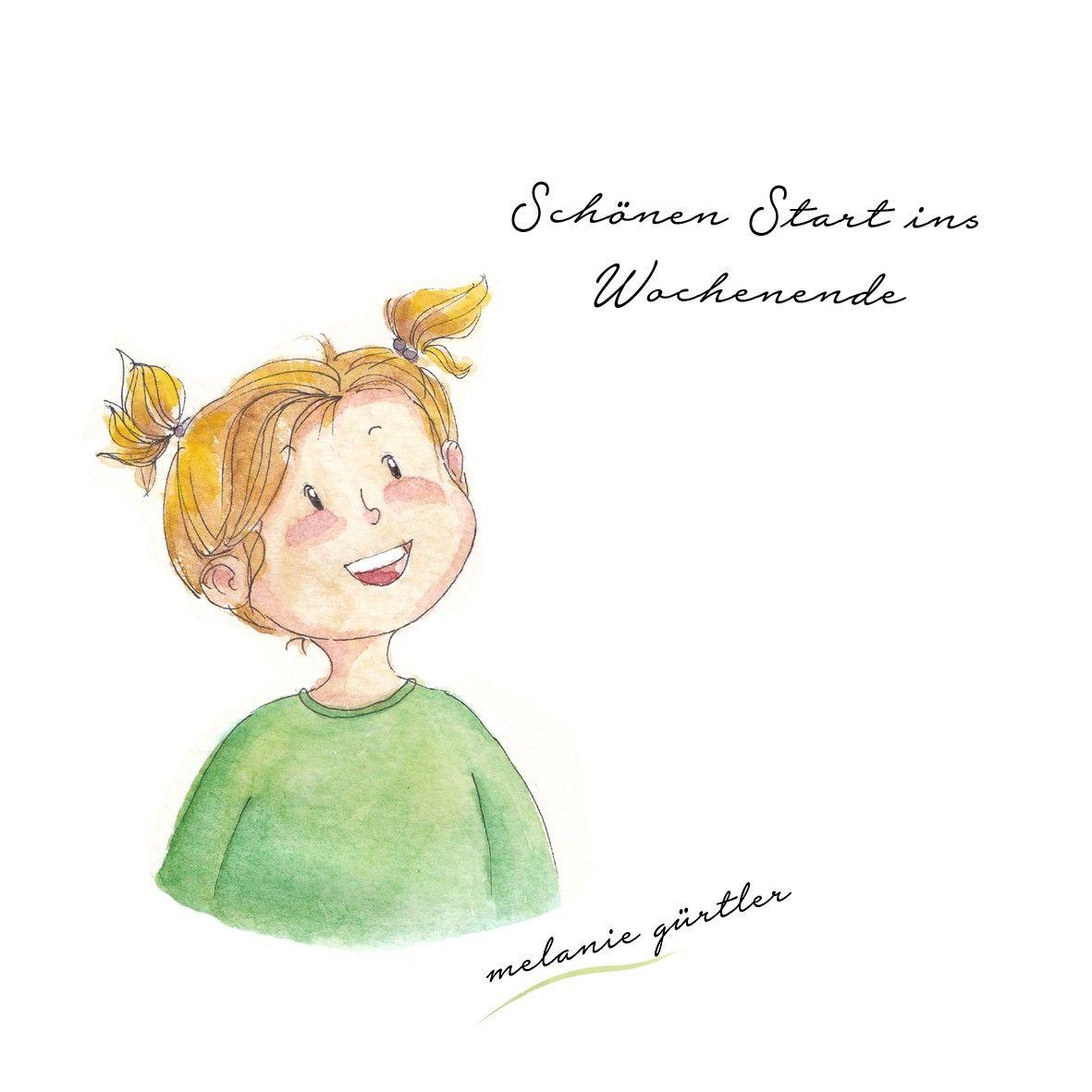 Kinderbuch Aquarell Melanie Gurtler Illustration