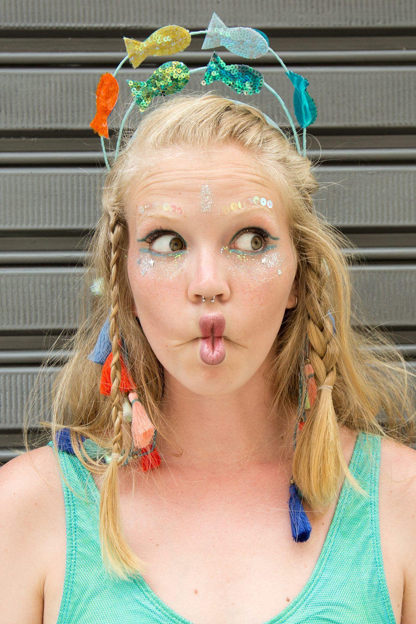 Carnaval | peixinha sereia | via. @mayarapin