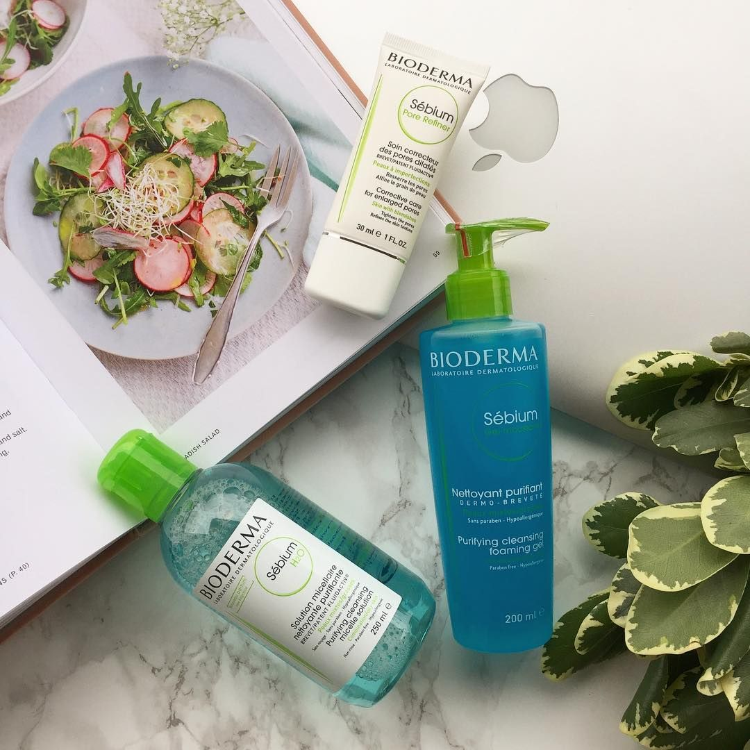 Tired Of Blemishes Bioderma Has The Solution Sebium Range Is