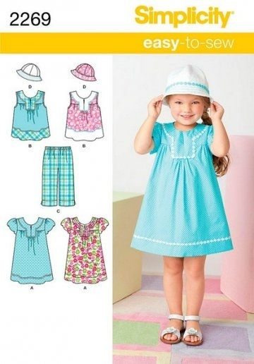 Simplicity Sewing Pattern 2269 (neck line ?) | order patterns ...