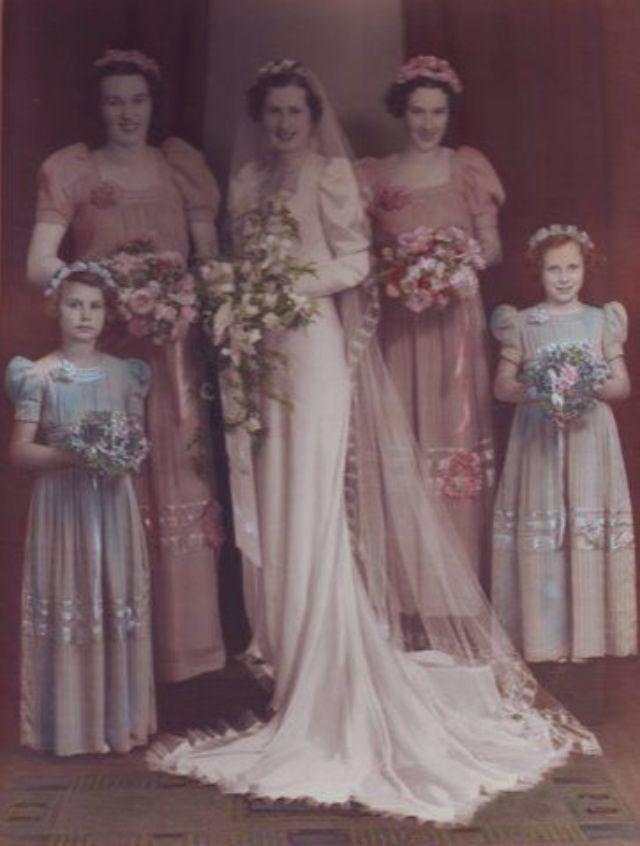 b6643fe9c3e Свадебные платья 1940 годов – 40 фото