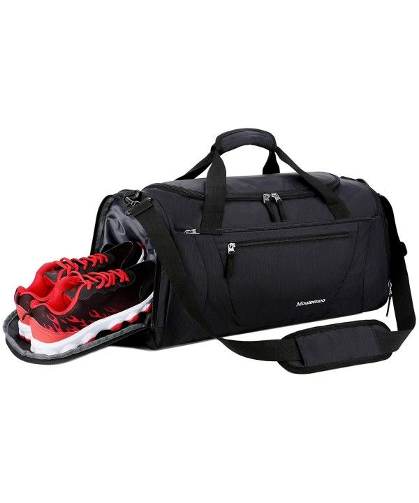 Gym Bag 40L Sports Travel Duffel Bag for Men and Women with Shoes ... 8d58f5f5a7272