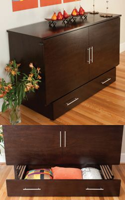 Creden Zzz Low Cost Alternative To Murphy Bed Cabinet Bed