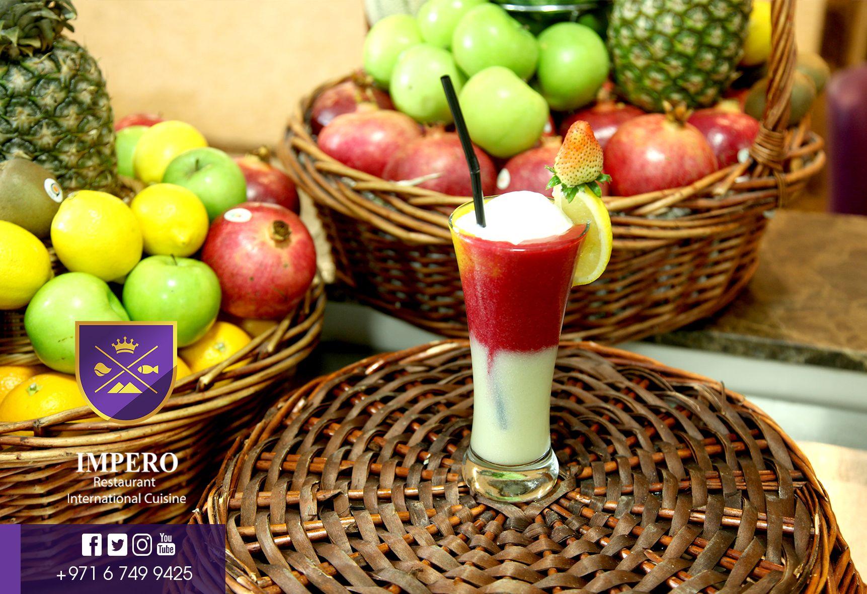 امبيرو بتقدملك عصائر طازجه من خيرة فواكه الامارات Eat Wish Imperorestaurant International Cuisine Picnic Basket Cuisine