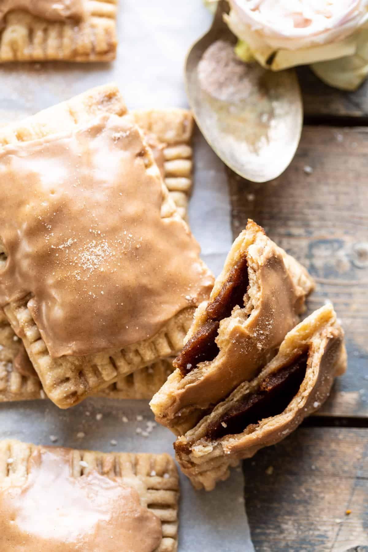 Homemade Frosted Brown Sugar Cinnamon Pop Tarts | halfbakedharvest.com