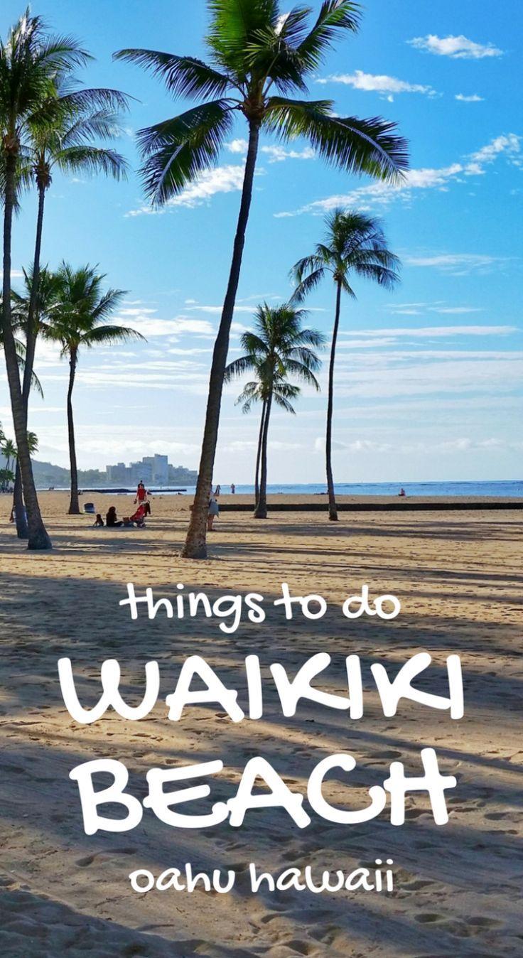 Waikiki Beach Things to do