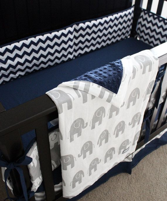 Elephant Crib Bedding This Listing Is For A Custom Set From Giggle Six Baby