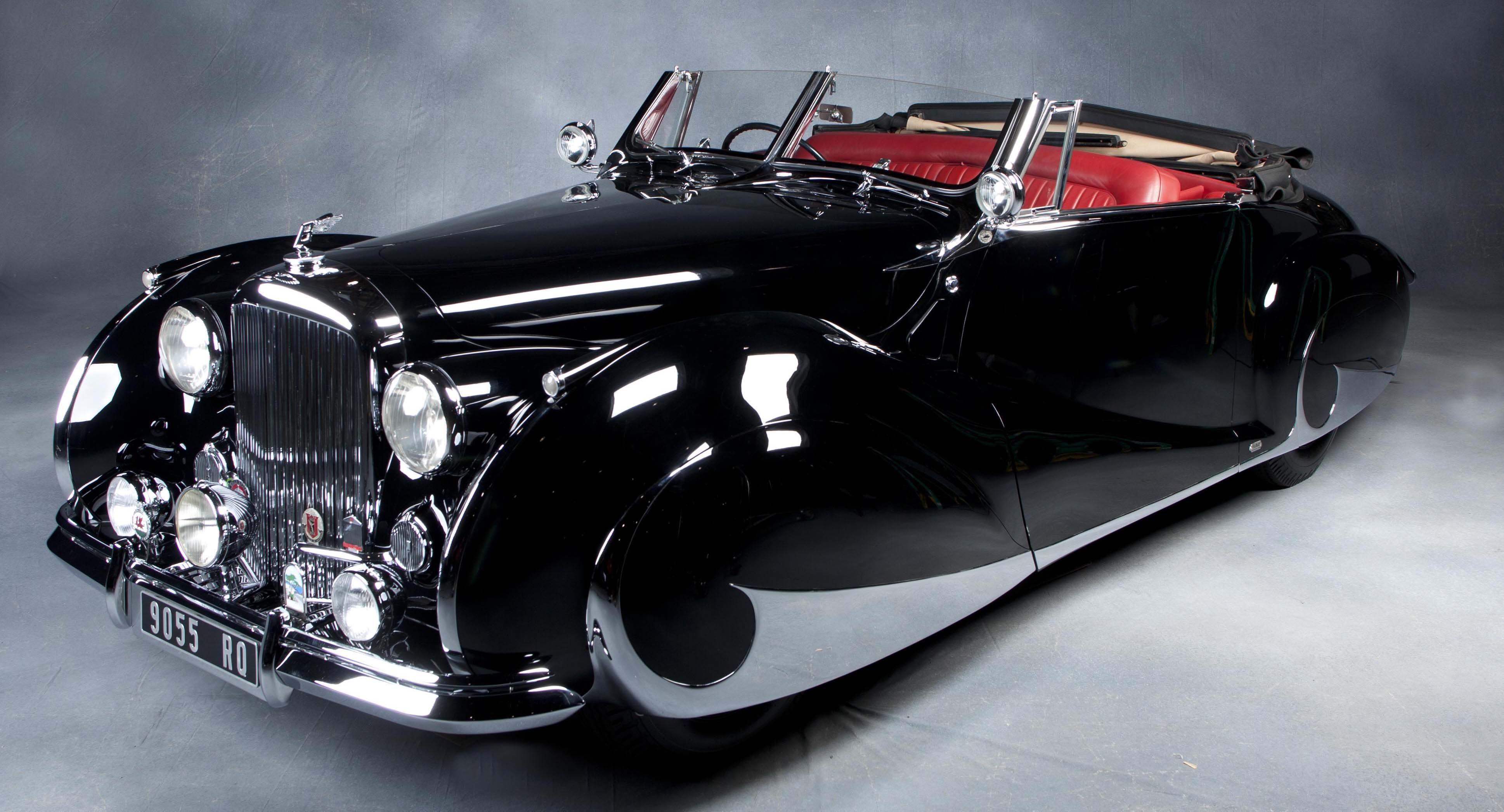 Bentley Franay Mark VI Cabriolet von 1947, #Vehicle #Oldtimer #Bentley #1947