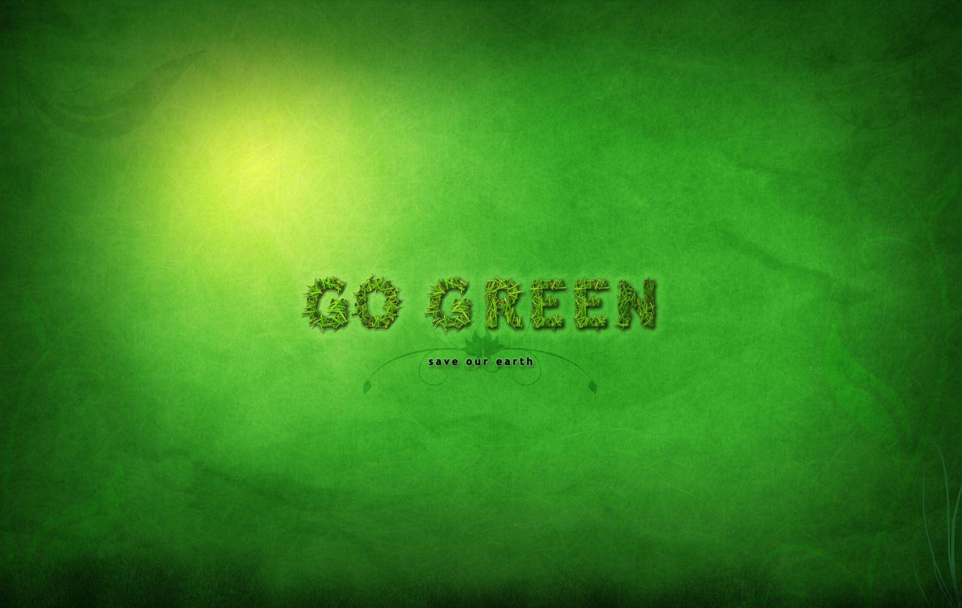 Go Green Wallpaper