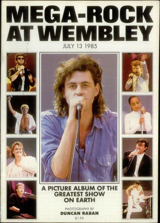 Live Aid 1985 Poster Live Aid Band Aid Band Aid 1984