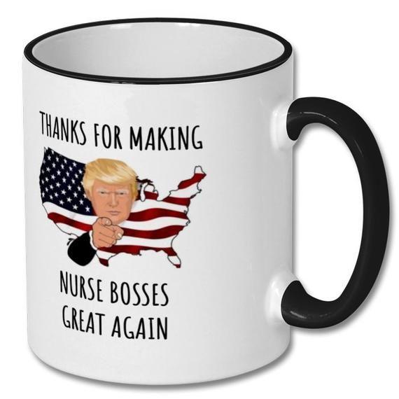 nurse boss, nurse boss mug, nurse boss gift, nurse boss coffee mug, nurse boss gift idea