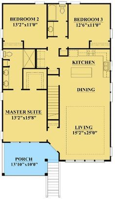 Plan 15061nc Narrow Lot Low Country Home Plan Narrow Lot House Plans House Plans Low Country Homes