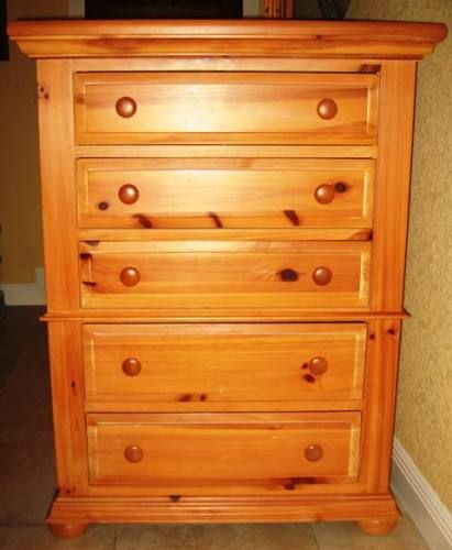 Broyhill Fontana Highboy Dresser