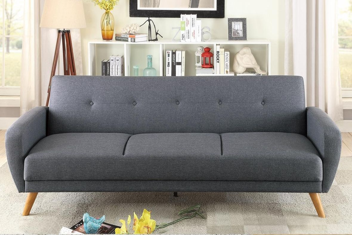 Grey Fabric Sofa Bed Steal A Furniture Outlet Los Angeles Ca