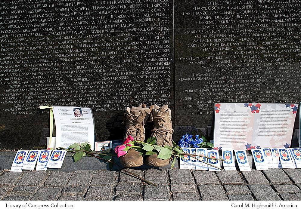 Carol M Highsmith S America Vietnam Memorial Veteran Memorial Wall Vietnam Veterans Memorial