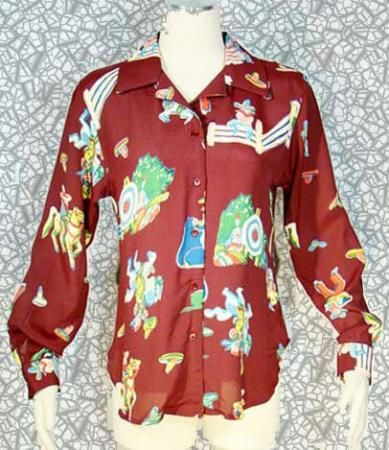 Vintage 80's RETRO 40's LADY REINER BURGUNDY Cowgirl Couture Rayon Blouse XS/S  @ The Hula Hut & More Store.        http://www.ebay.com/itm/Vintage-80s-RETRO-40s-LADY-REINER-BURGUNDY-Cowgirl-Couture-Rayon-Blouse-XS-S-/320917905143?pt=Vintage_Women_s_Clothing=item4ab8329ef7