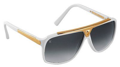 "Louis Vuitton - 2 Tone - Summer White & Gold Trim - J Rag's ""Time I$ Money"" Video 2012"