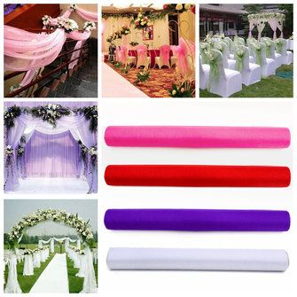 Only us548 shop 48cm 10yards sheer organza roll wedding chair only us548 shop 48cm 10yards sheer organza roll wedding chair sash bow table runner junglespirit Choice Image