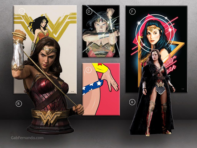 Wonder Woman | Displate thumbnail