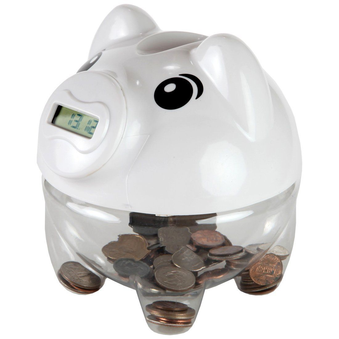 Digital Piggy Coin Counting Bank