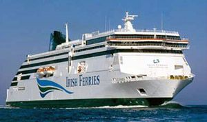 Ferry To Ireland From Holyhead >> Irish Ferries Ship Ulysses From Holyhead To Dublin 25th