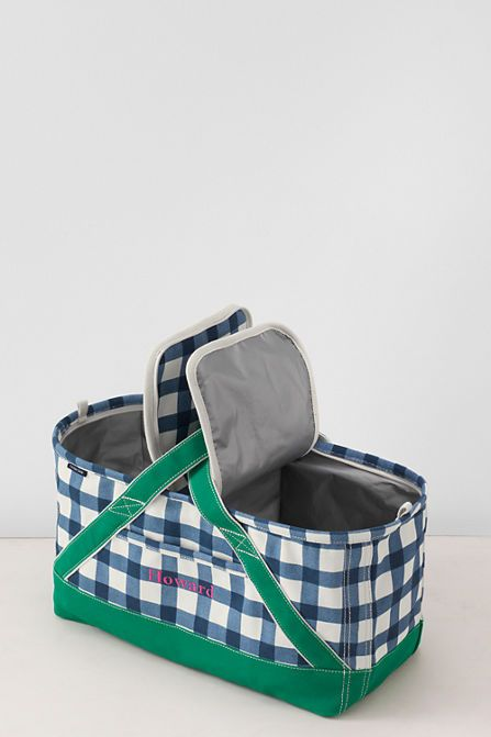 Canvas Picnic Basket from Lands' End