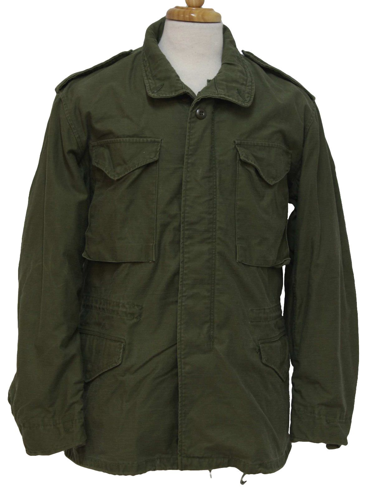 Mens 1970's military jacket 65Bd3qU