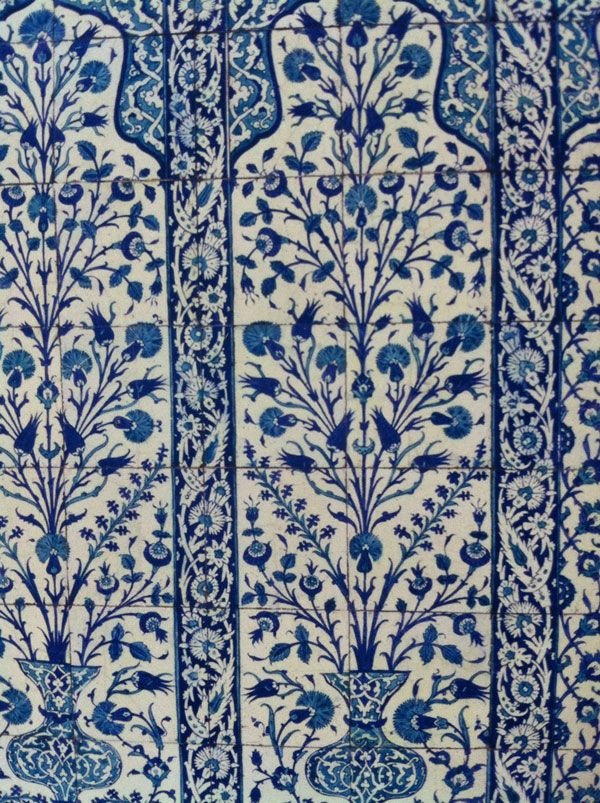 Victoria And Albert Blue And White Turkish Tiles Web