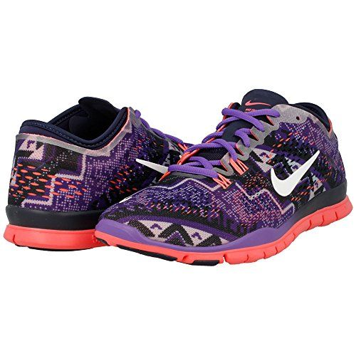 Nike Free 50 TR Fit 4 Print ObisidanHyper GrapeHyper PunchIvory Womens Shoes ObisidanHyper GrapeHyper PunchIvory Size 14 -- Details can be found by clicking on the image.(This is an Amazon affiliate link and I receive a commission for the sales)