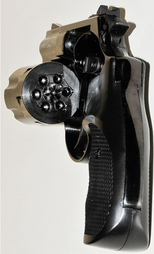 Rewolwer Hukowy 2 5 Na Srut 5 5 Mm Wiatrowka 6144458067 Oficjalne Archiwum Allegro Biker Boot Boots Hand Guns