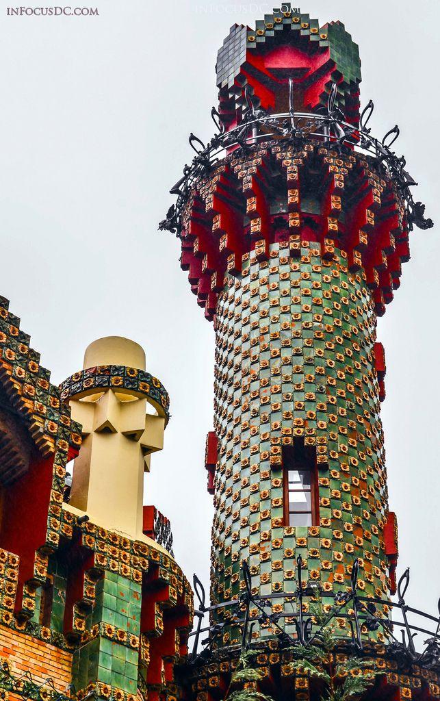 El Capricho de Gaudí   Gaudi, Gaudi barcelona, Gaudi ...