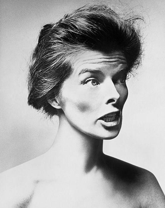 Loved this photographer!! Miss his work.. Katherine Hepburn by Richard Avedon