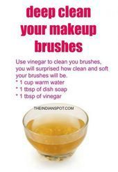 Photo of Makeup Brushes Cleaner Homemade 23 Super-Ideen # Make-up # Mode-Accessoires # Mo…