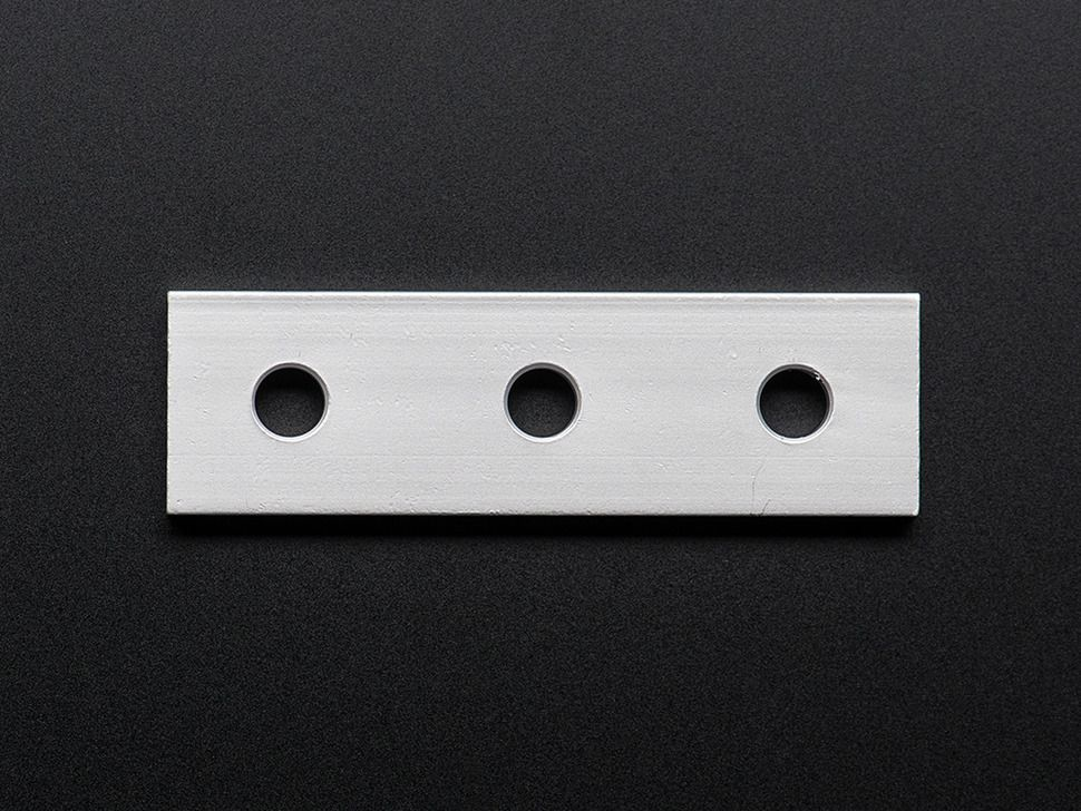 Coupling Plate 3 Holes 20x20 Aluminum Extrusion