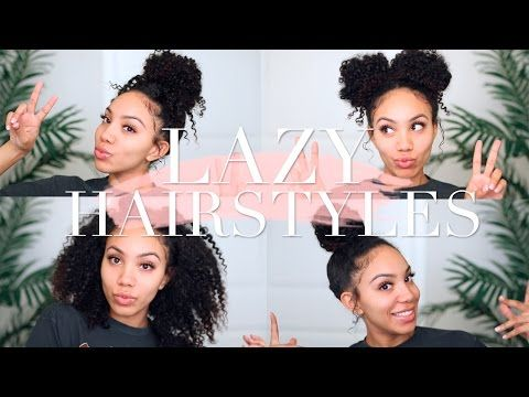 Lazy Hairstyles For Curly Hair Lazy Hairstyles Quick Curly