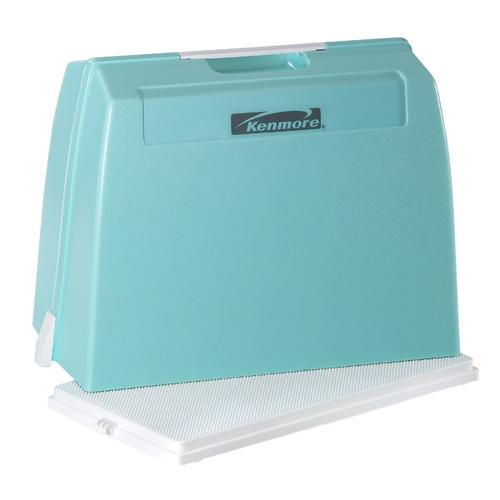 Kenmore 96602 Carrying Case For Portable Sewing Machine Mint Green Sears Outlet Kenmore Carrying Case Sewing Machine