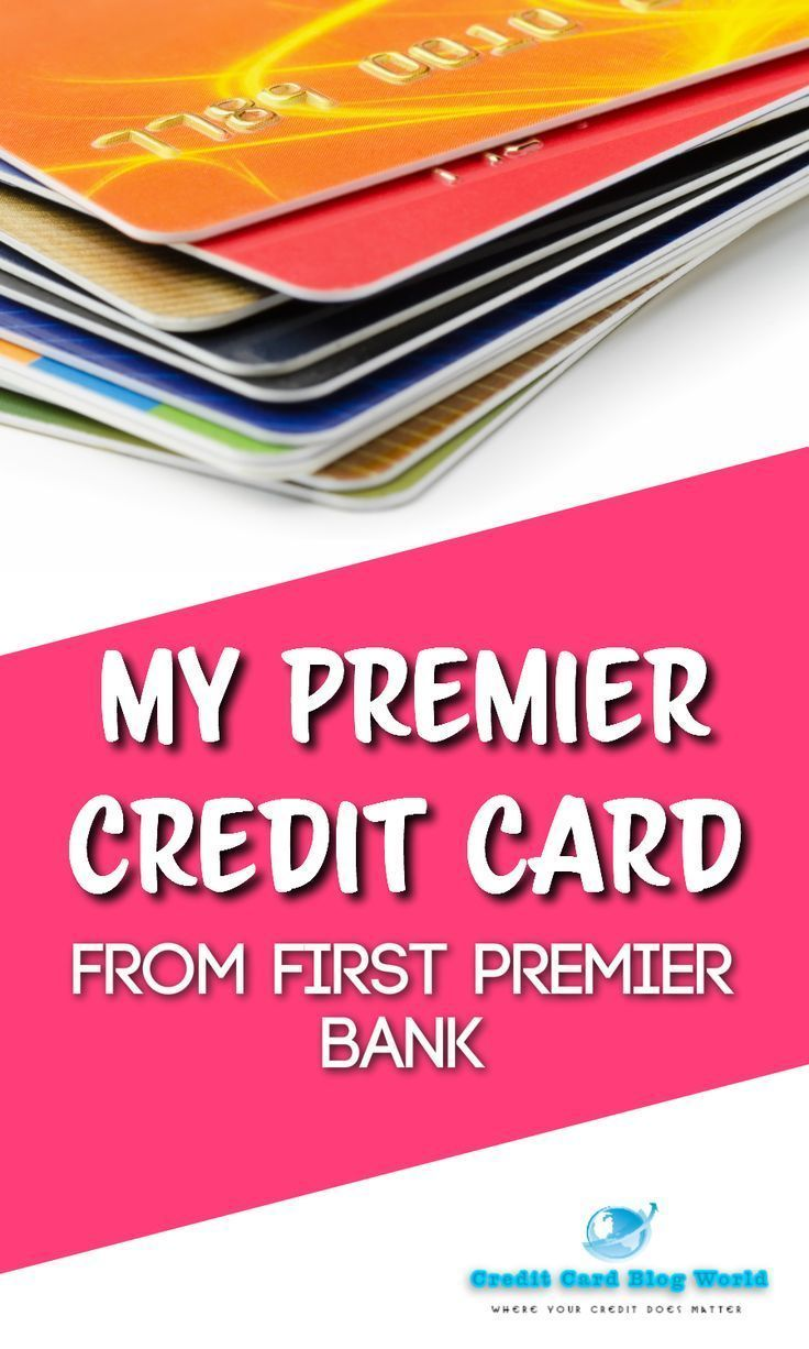 My Premier Credit score Card From First Premier Financial