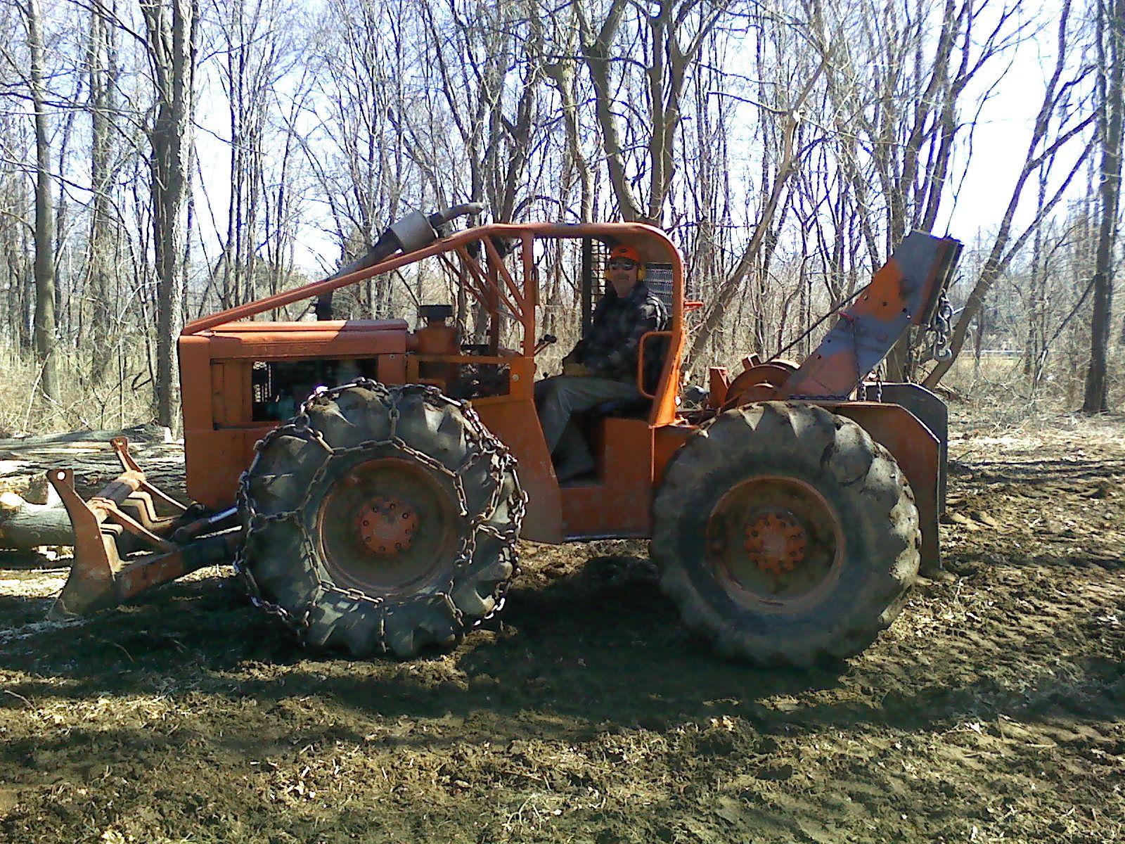 Wooden Toy Log Skidder : Logging skidders forestry solutions skidder