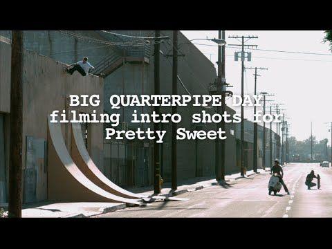 Quarter Pipe Day Girl Skateboards • elcubocrskateboardingelcubocrskateboarding