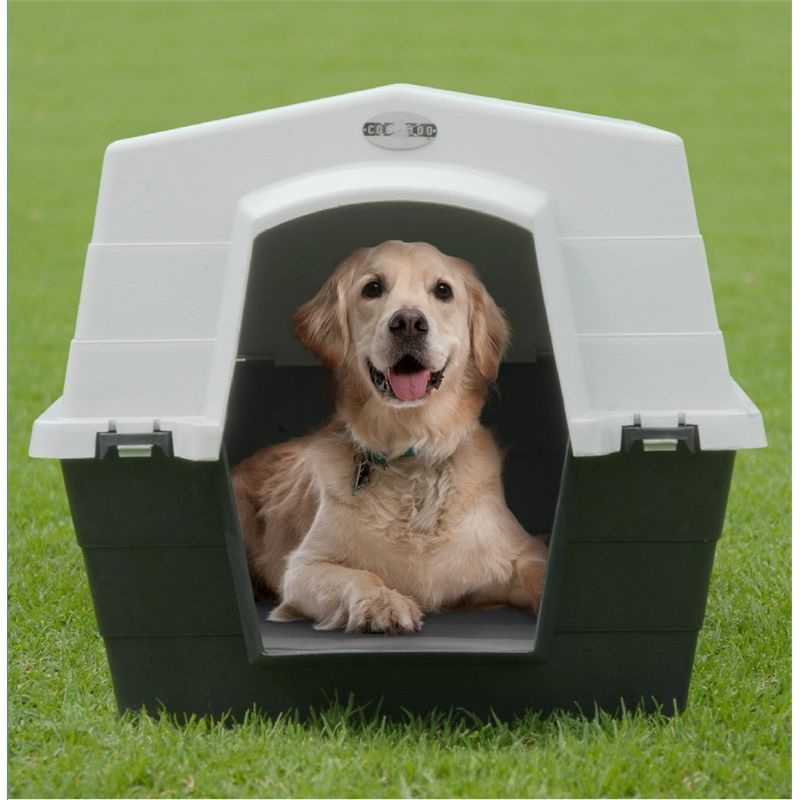 Coolaroo Large Plastic Dog Kennel - Bunnings | Home Is ...